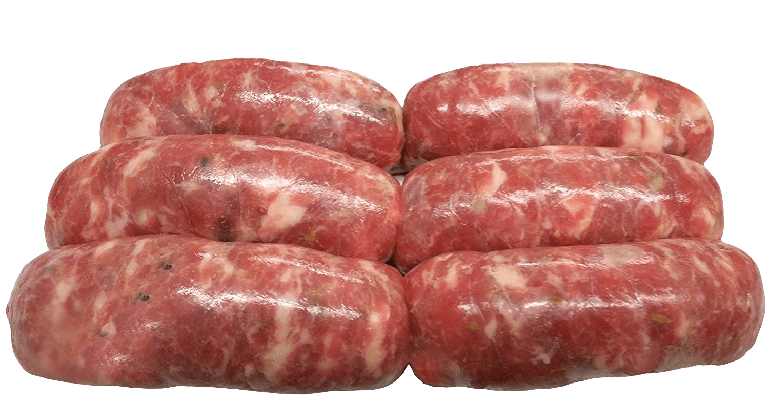 Fresh Local Meat Delivery - Traditional Home Made Sicilian Pork Sausage With Fennel Made Fresh Daily (12 Links) Includes Shipping