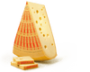 International Cheese - Emmentaler Swiss Cheese  1 Pound Chunk - Free Shipping