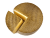 International Cheese - Manchego Cheese 1/4 Wheel - One And Three Quarter Pound. Spain