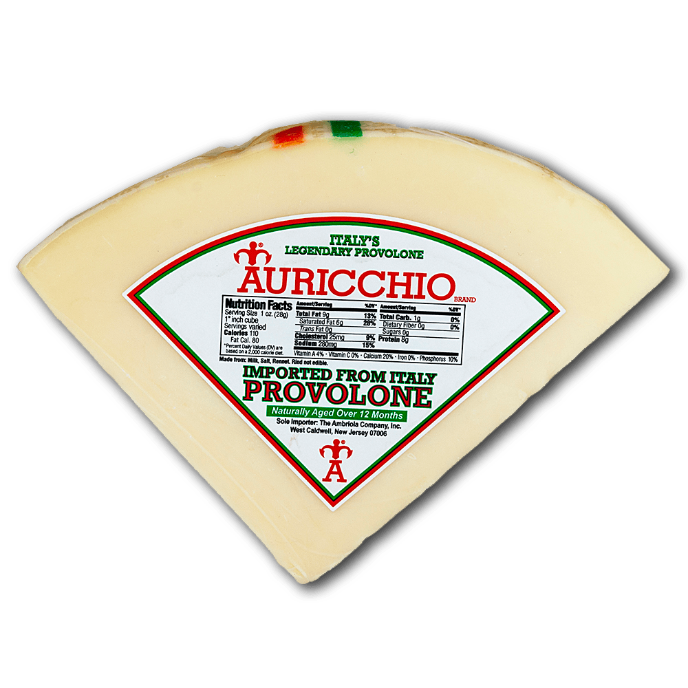 Italian Cheese - Provolone (Auricchio) Authentic Imported From Italy - Free Shipping