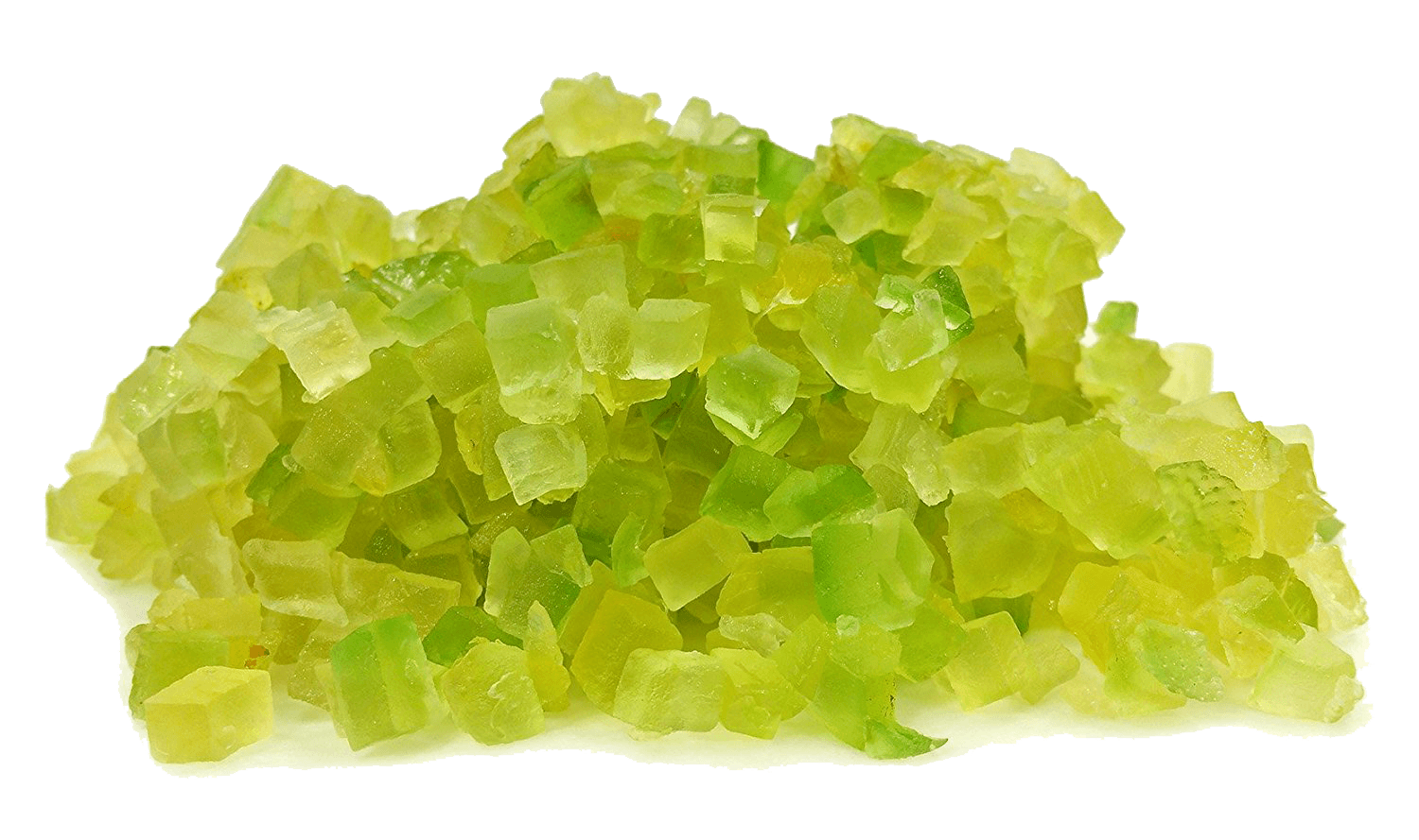 Italian Easter Products - Hand Cubed Candied Citron (Cedro) 12 Ounce Container - Free Shipping
