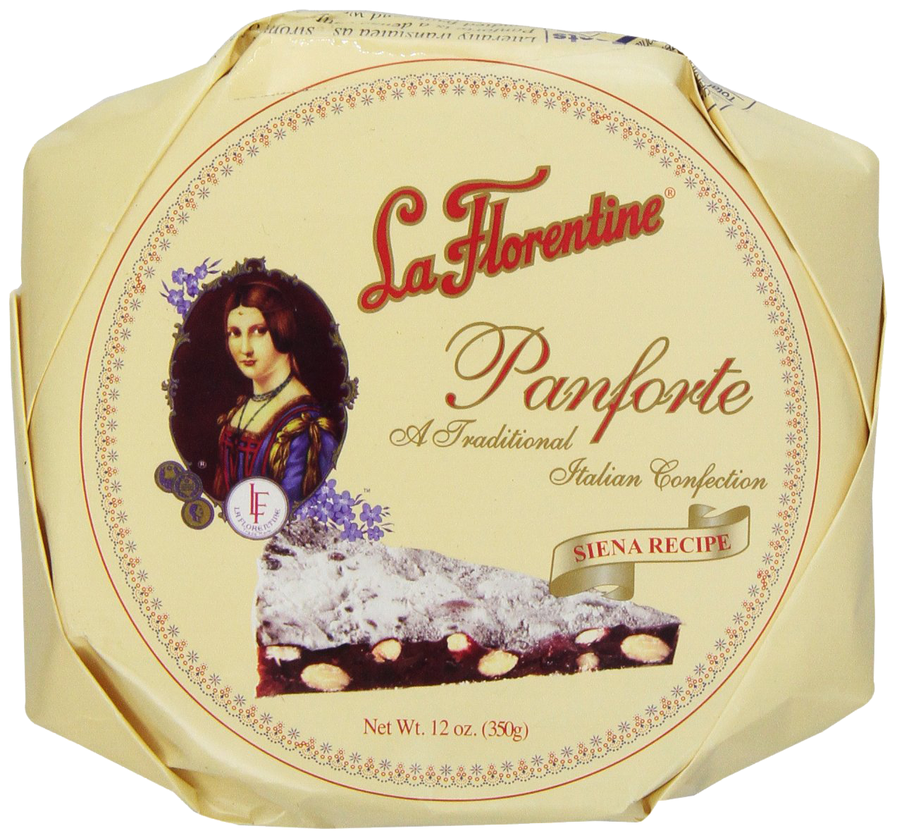 La Florentine Panforte, 12-Ounce Box - 2 pack