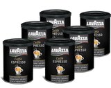 Lavazza Caffe Espresso Ground, 8 oz_6 _Pack