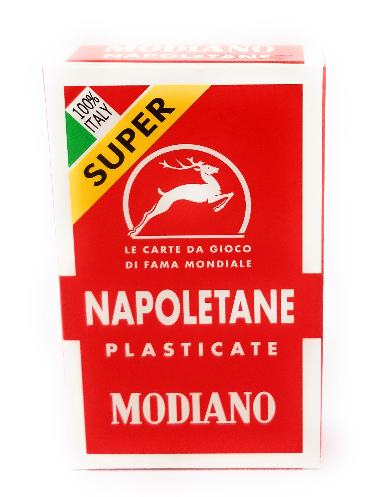 Napoletane 97/25 Modiano Regional Italian Playing Cards. Authentic Italian Deck.  2 Decks