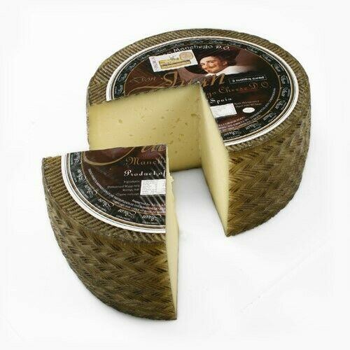 Manchego Whole Wheel Approximately 7 pounds - 3 Month Aged DOP.