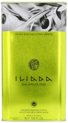 Olive Oil - Iliada Extra Virgin Olive Oil Tin, 3 Liter