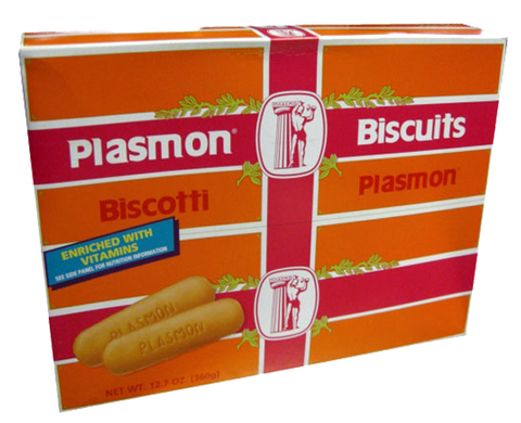 Plasmon - Italian Baby Biscuits (Biscotti), One Case (12) - 12.7 oz. Boxes
