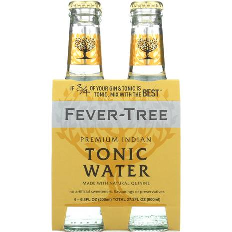 Fever-Tree: Premium Indian Tonic Water