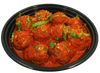 Prepared Food - All Natural Meat Balls Made Fresh Daily 12 Meatballs (In Sauce) Fully Cooked - Heat And Serve - Includes Shipping