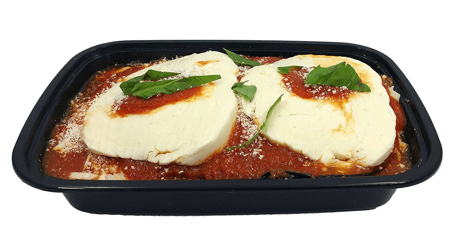 Prepared Food - Eggplant Parmigiana 1.5 Pounds Made Fresh Daily - Heat And Serve - Includes Shipping