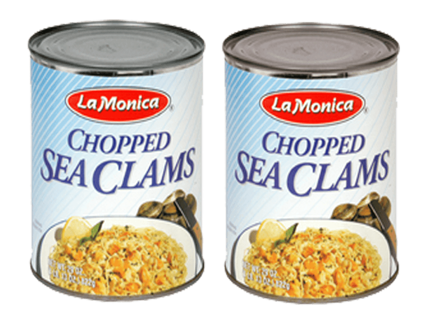 Sea Food - Lamonica Seafood Chopped Sea Clams - 2 Pack - FREE SHIPPING