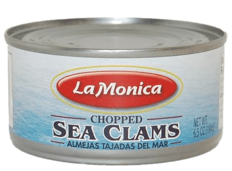 Seafood - LaMonica Chopped Sea Clams 6.5 Oz (Pack Of 4)