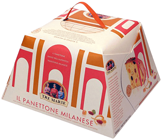 Tre Marie Panettone Milanese - 750 Grams