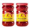 Tutto Calabria Hot Chili Peppers Crushed. In Glass 2 Pack. Imported Calabria Italy.