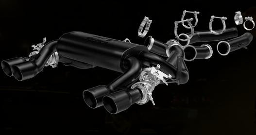 "MagnaFlow BMW M3/M4 SS Cat-Back Touring Exhaust - 3"" Black Tips"