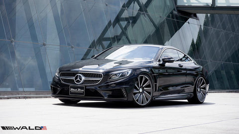 WALD C217 S Class Coupe Black Bison