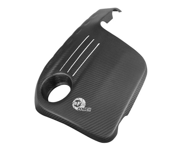 aFe Engine Cover Matte Carbon Fiber