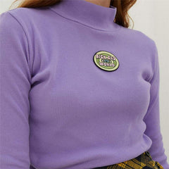 SICK SAD WORLD DARIA CROPPED TOP