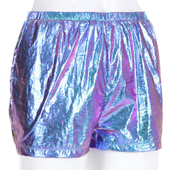 CASUAL HOLOGRAPHIC SHORTS