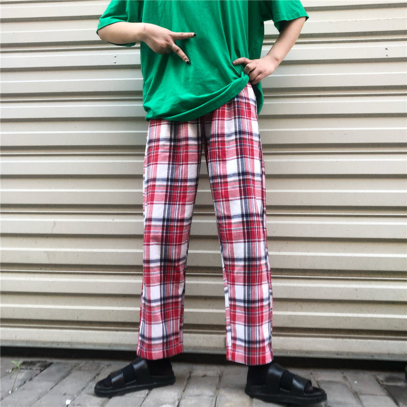 UNISEX PLAID PANTS