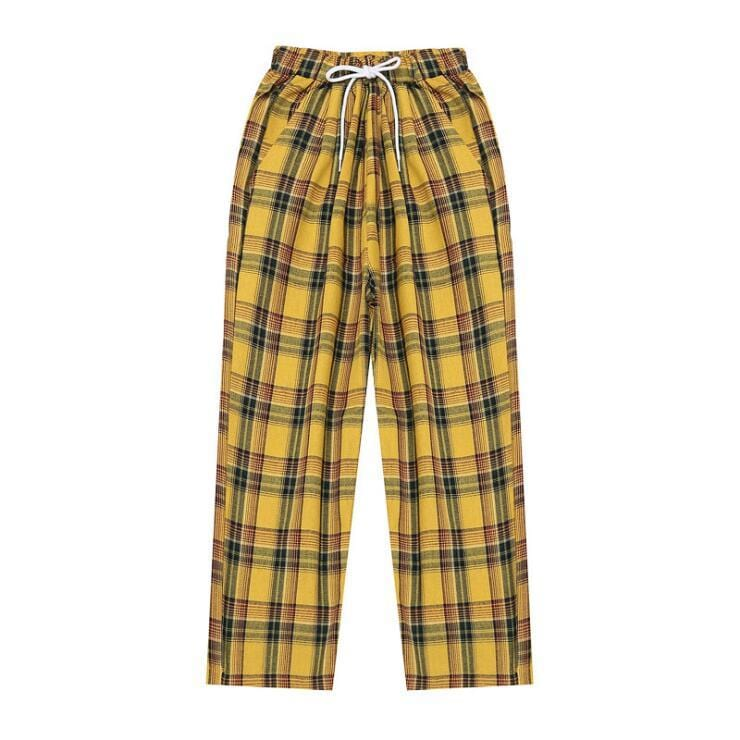 CASUAL PLAID PANTS