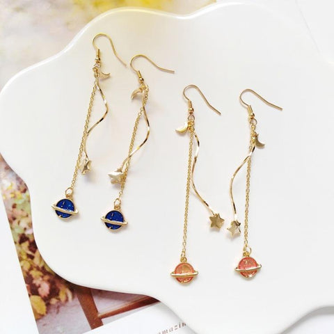 FANTASY STARRY EARRINGS (2pairs)