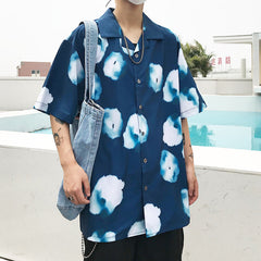 CLOUDS PRINT SHIRT