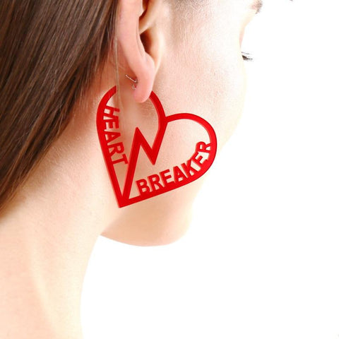 HEART BREAKER EARRINGS