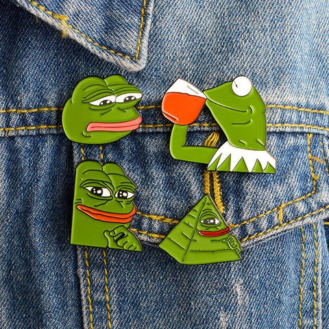 PEPE PINS (SET/4PCS)