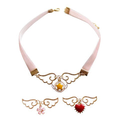 ANGEL WINGS CHOKER (3 PCS)