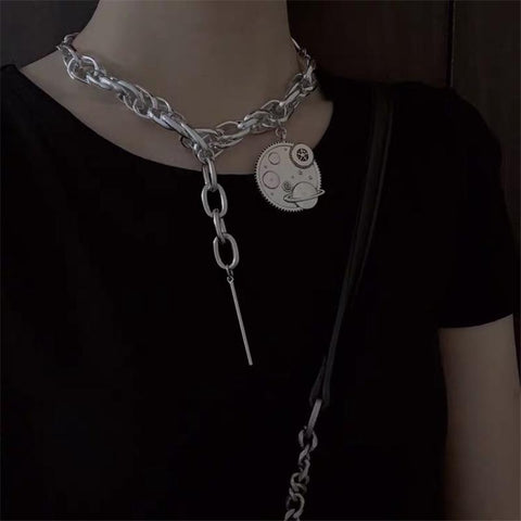 PUNK PLANET NECKLACE