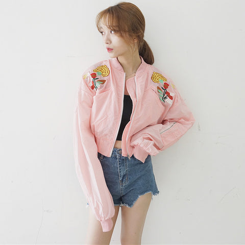 RETRO FLOWERS JACKET
