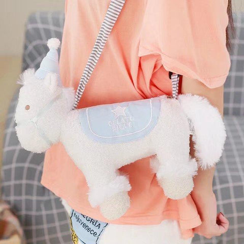 UNICORN PLUSH TOY BAG
