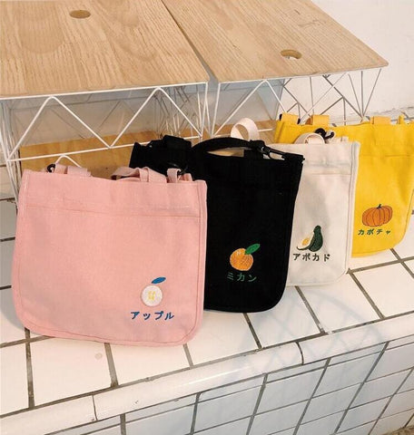 FRUIT CANVAS BAG