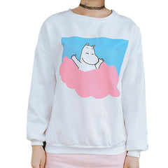CARTOON CLOUD SWEATER