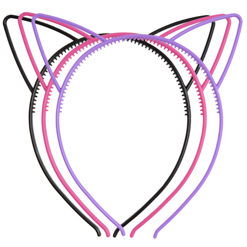 CAT EAR HEADBAND (set)