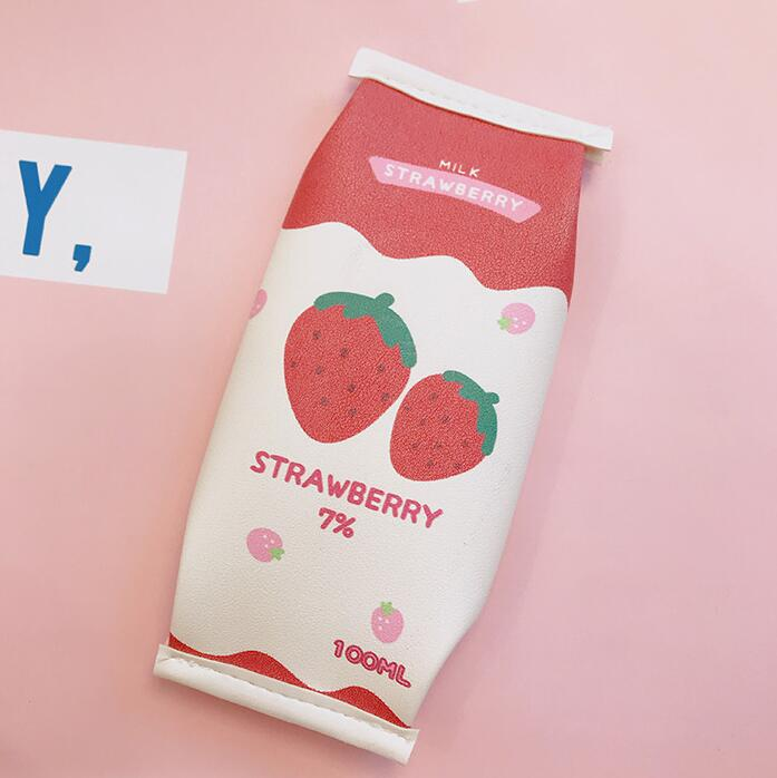 CHILDLIKE STRAWBERRY PENCIL CASE