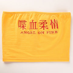 ANGEL ON FIRE TUBE TOP