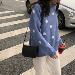 POLKA DOT KNITTED
