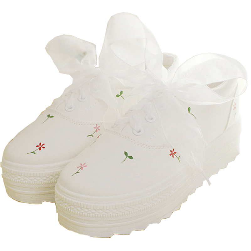 FLOWERY SHOES (4.5-8.5)