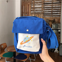 PLANET CANVAS BAG