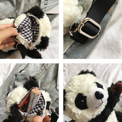 KAWAII PANDA PLUSH BAG