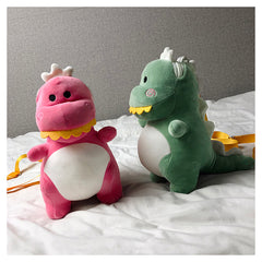 KAWAII CARTOON DINOSAUR PLUSH BAG