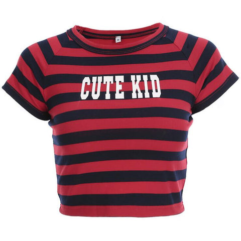 CUTE KID CROP TOP