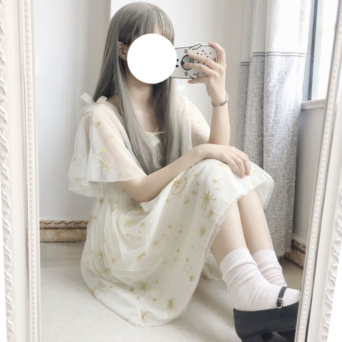 LOLITA STAR MOON BOW DRESS