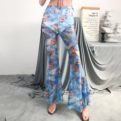 ANGEL TRANSPARENT FLARE PANTS