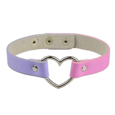 PURPLE+PINK DEATH CHOKER
