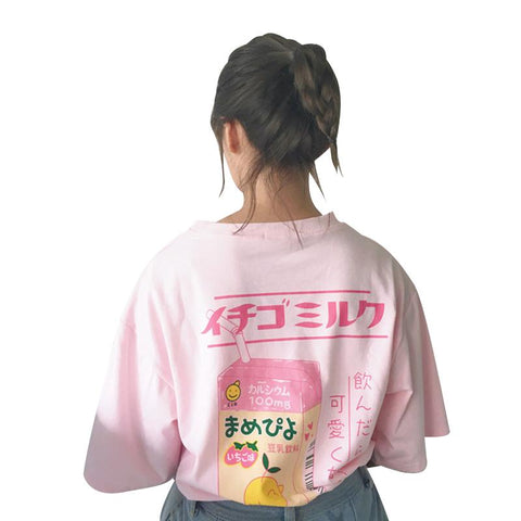 JAPANESE MILK TOP