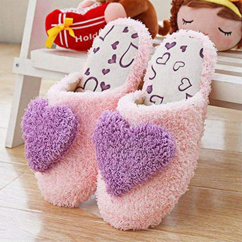 HEART PLUSH LOAFERS (5.5-9.5)