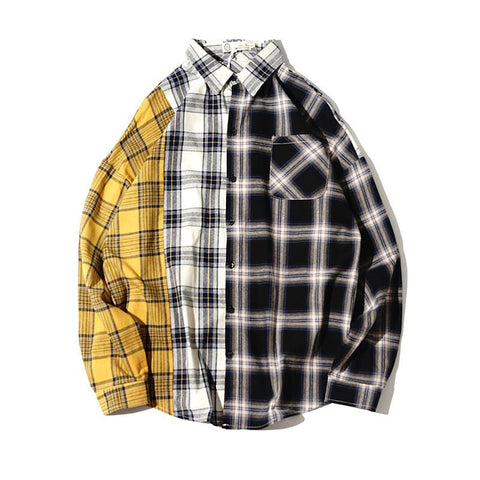 BLOCK GRID SHIRT